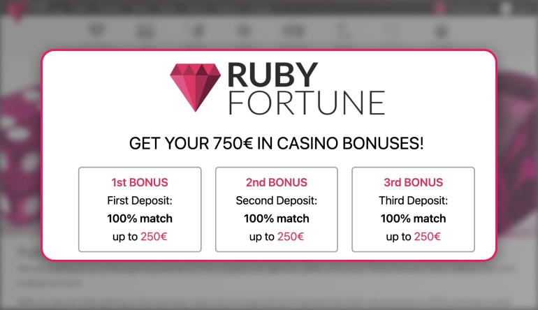 rubyfortune offer
