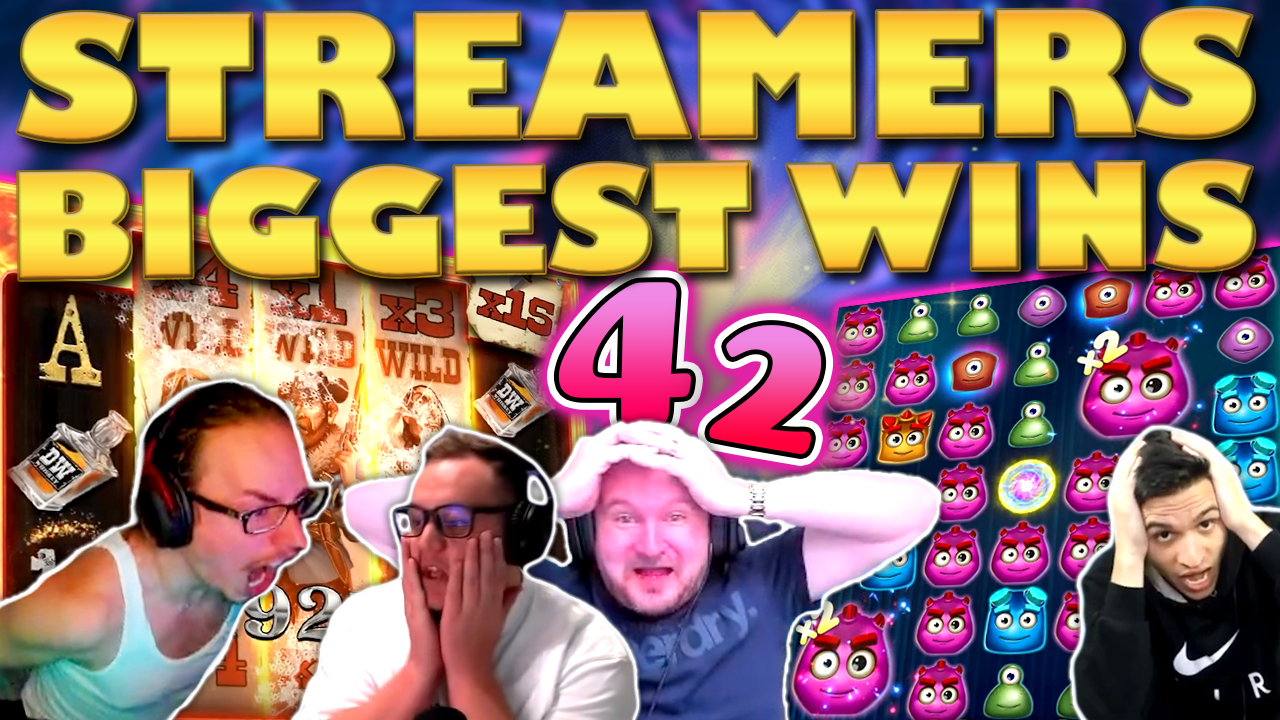 Watch the biggest casino streamer wins for week 42 2020