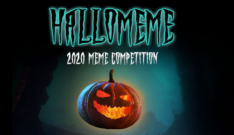 CasinoGrounds Halloween Meme Competition 2020
