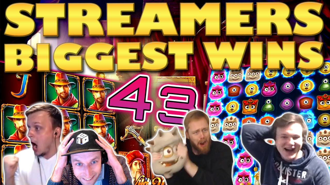 Watch the biggest Casino Streamer Community wins for week 43 2020