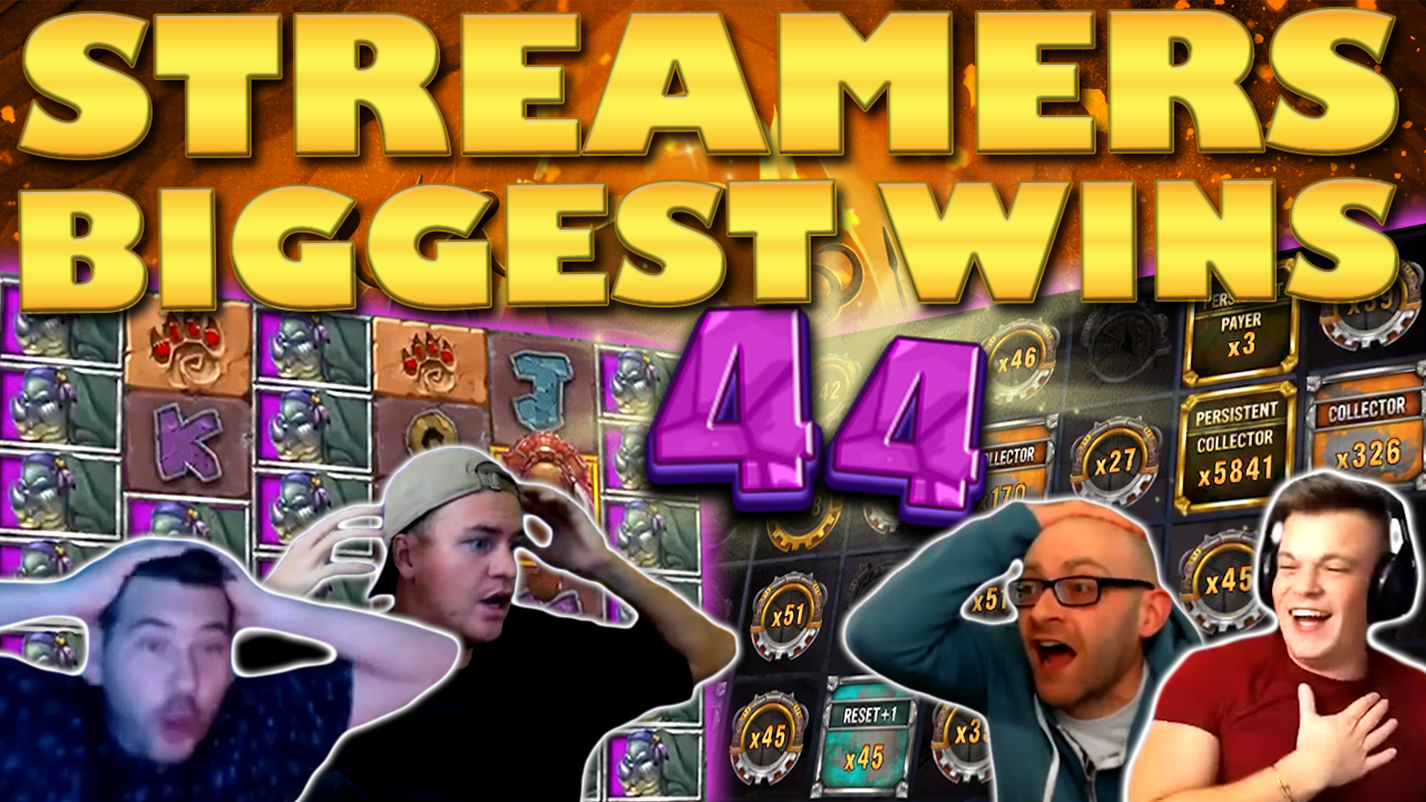 Watch the biggest casino streamer wins for week 44 2020