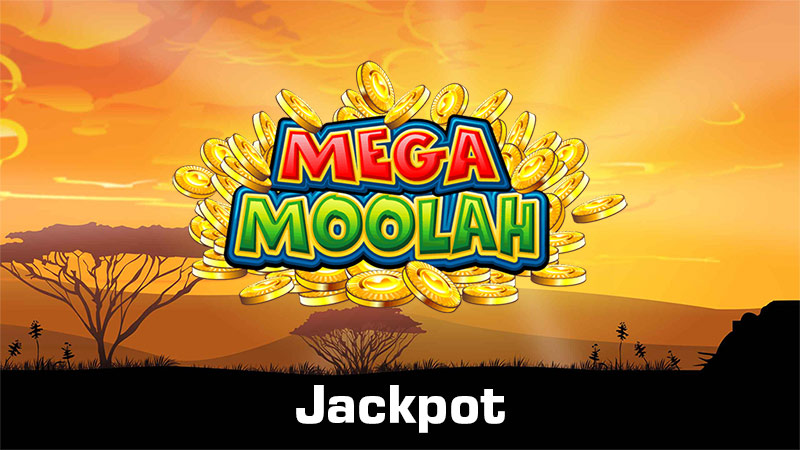 Header image for the Mega Moolah Jackpot article on CasinoGrounds