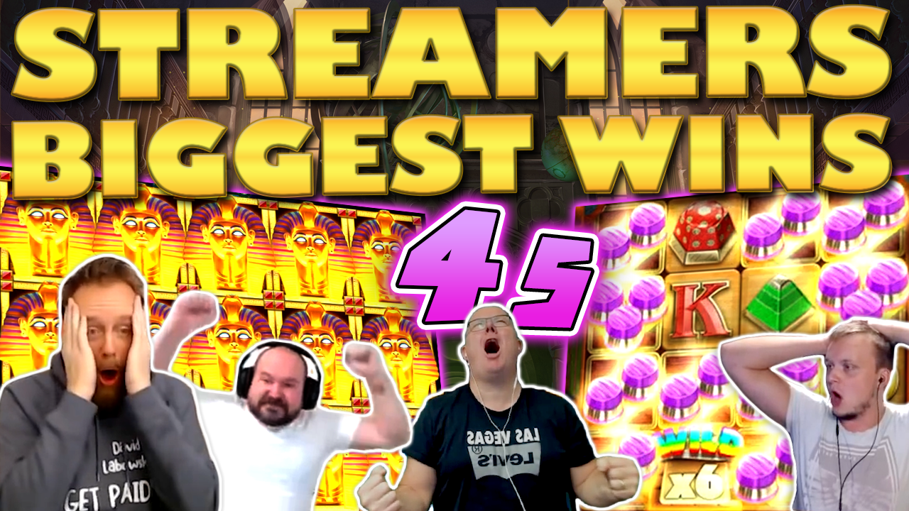 Watch the biggest casino streamer wins for week 45 2020