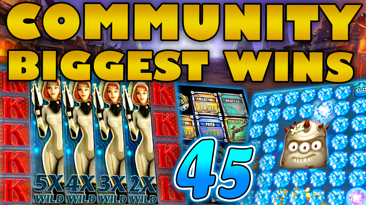 Watch the biggest Casino Streamer Community wins for week 45 2020