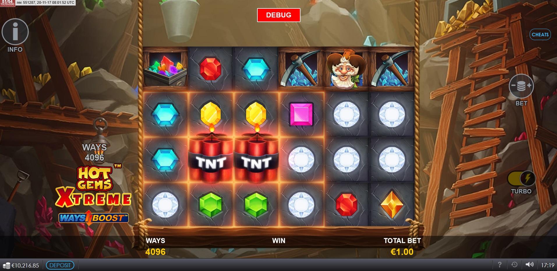 Hot Gems Xtreme Main Game TNT