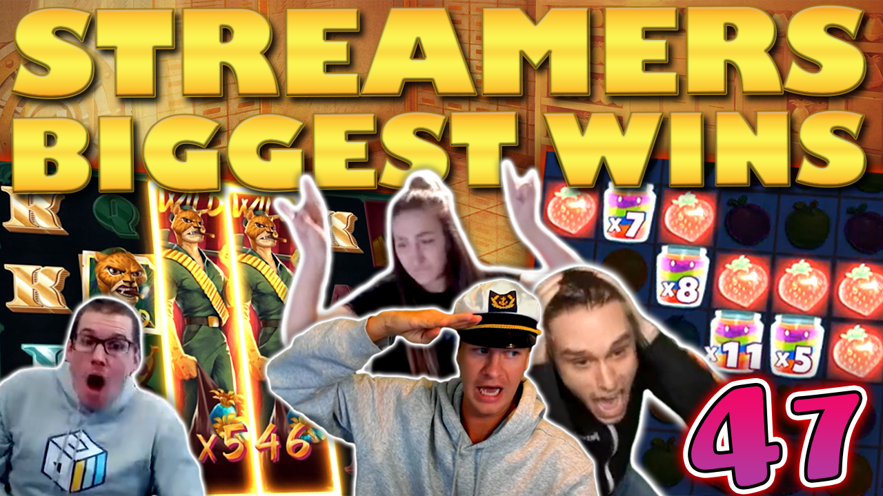 Watch the biggest casino streamer wins for week 47 2020