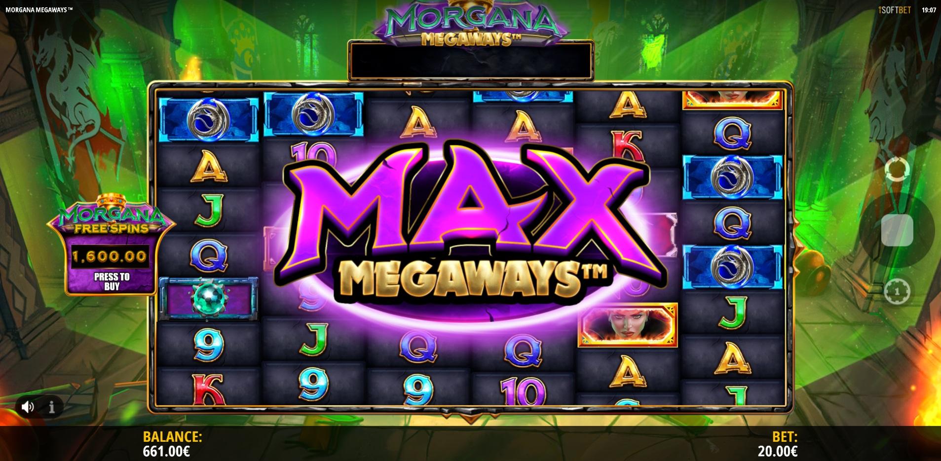 Max Megaways Morgana Megaways