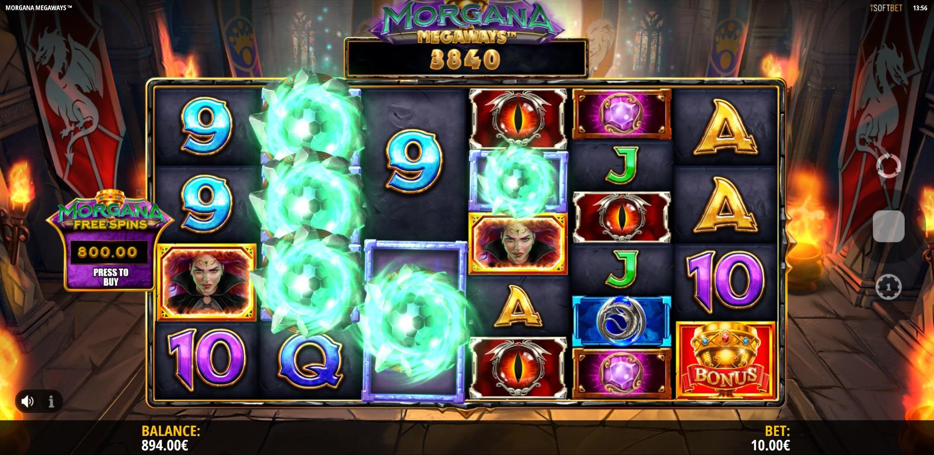 mystery symbols Morgana Megaways