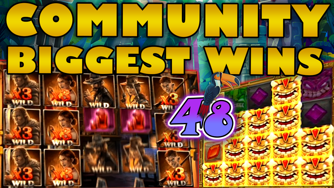 Watch the biggest Casino Streamer Community wins for week 48 2020