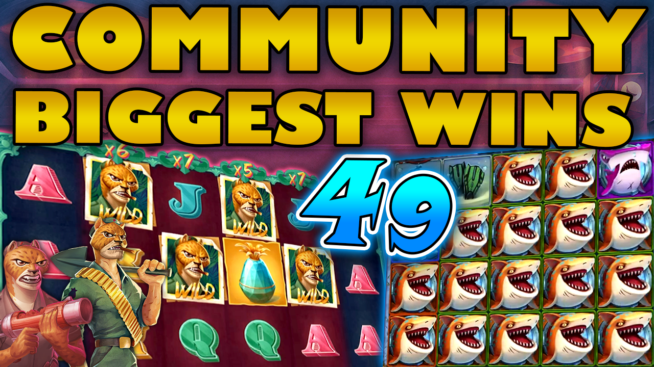 Watch the biggest Casino Streamer Community wins for week 49 2020