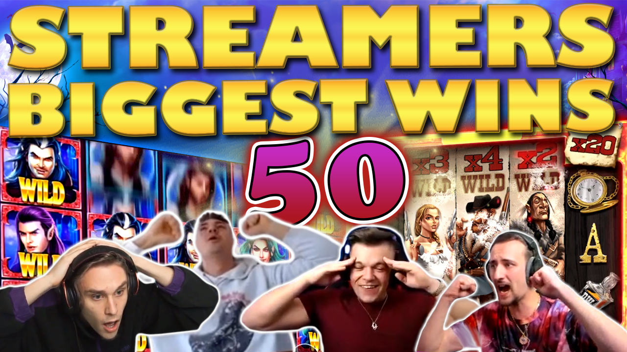 Watch the biggest casino streamer wins for week 50 2020