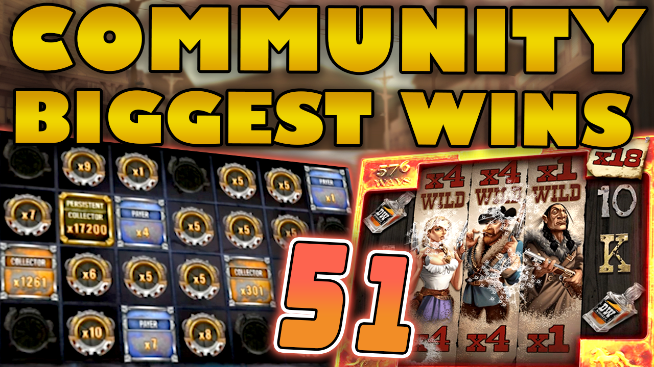 Watch the biggest Casino Streamer Community wins for week 51 2020