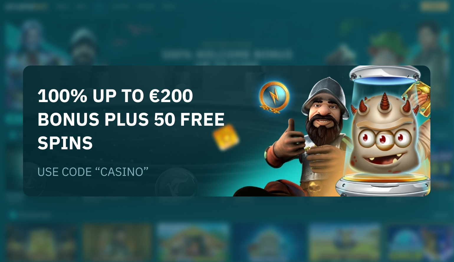 arcane bets welcome offer