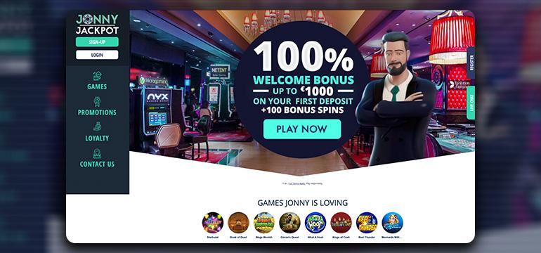 jonnyjackpot lobby