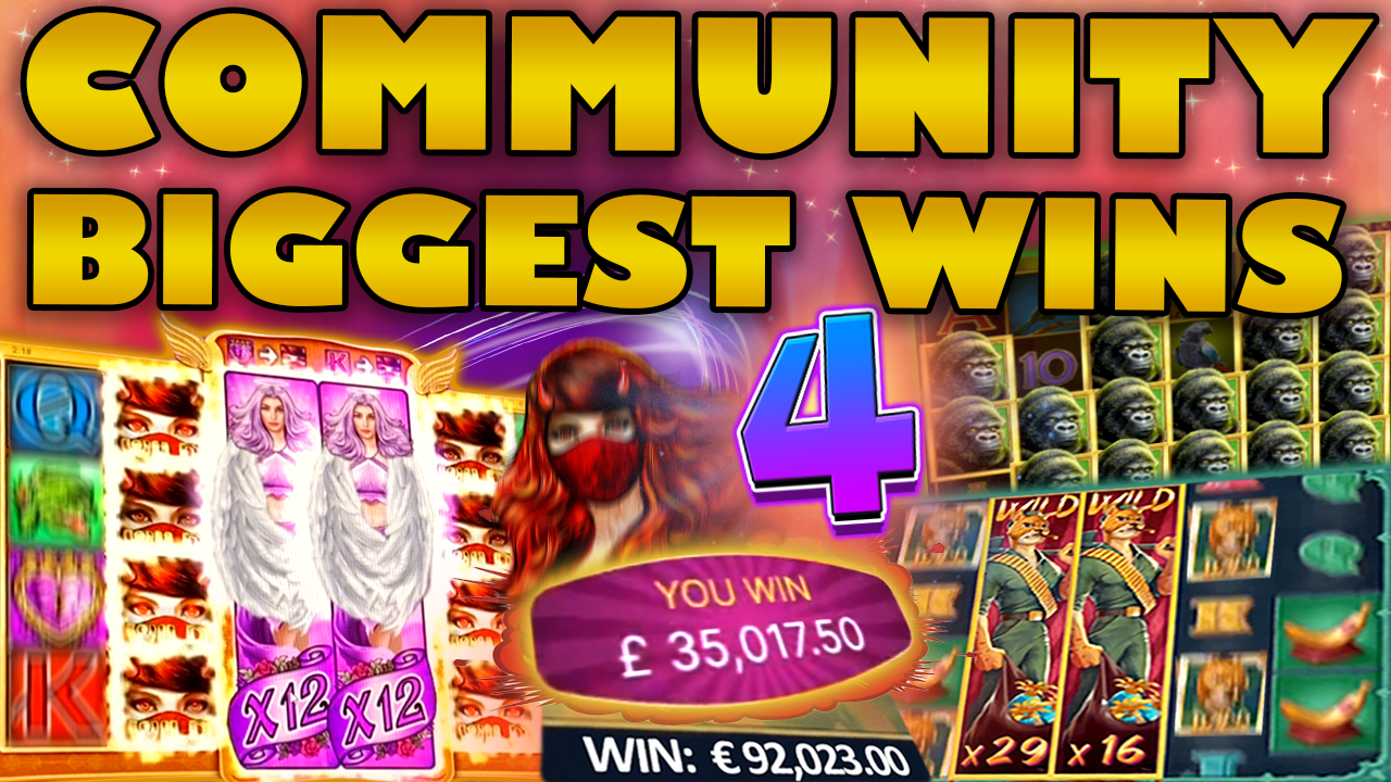 Watch the biggest Casino Streamer Community wins for week 04 2021