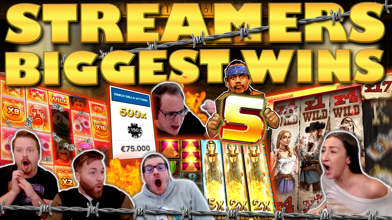 Watch the biggest casino streamer wins for week 05 2021