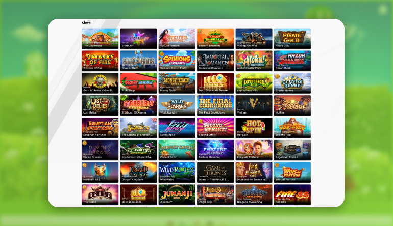 What Casino Games do I find at UberLucky Casino?