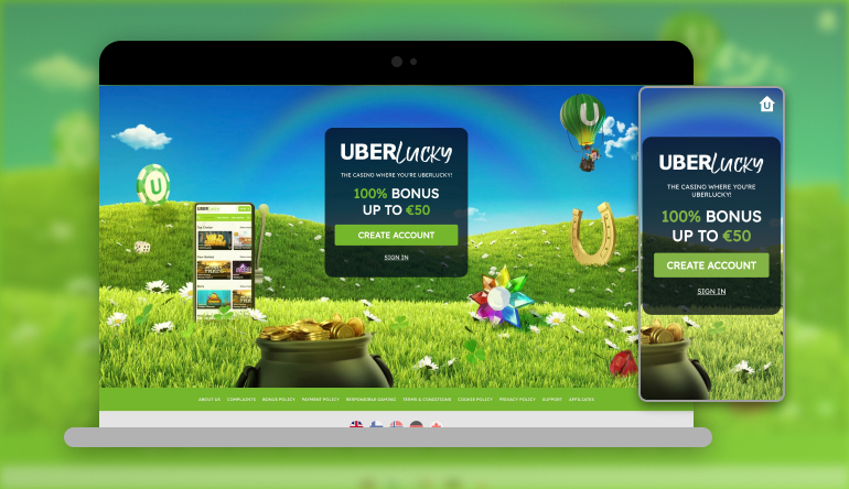 uberlucky casino on several devices
