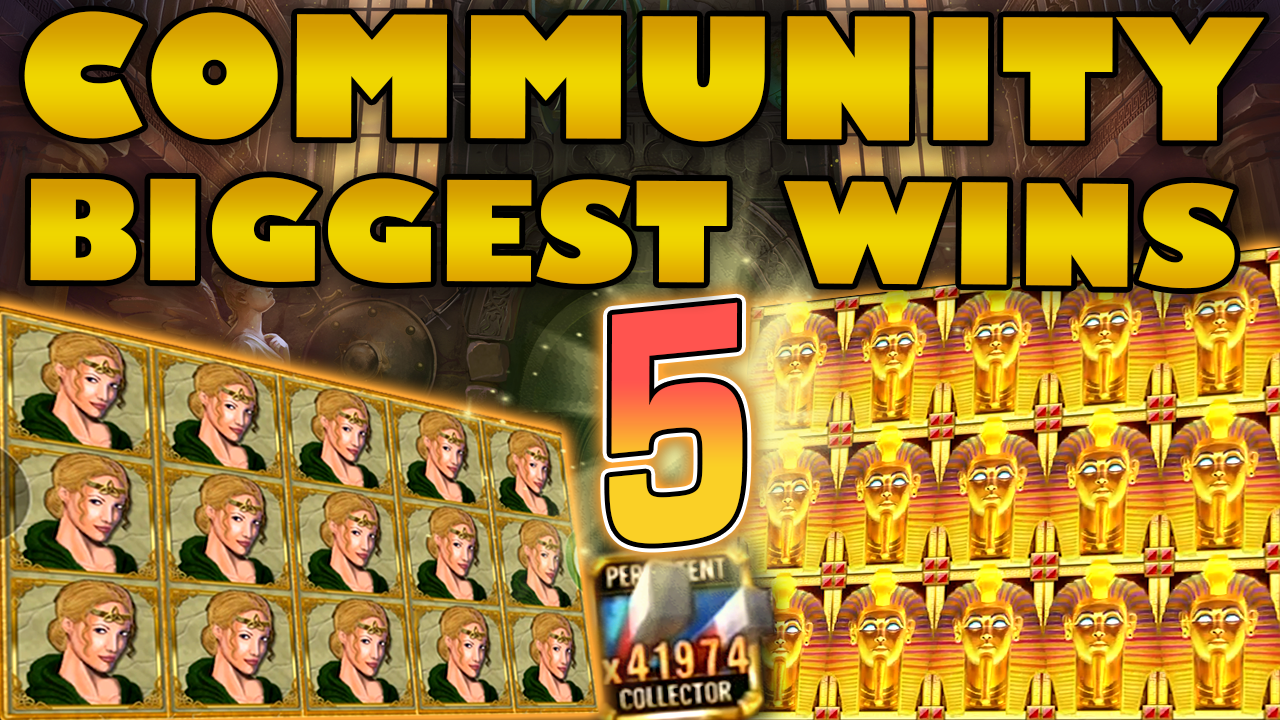 Watch the biggest Casino Streamer Community wins for week 05 2021