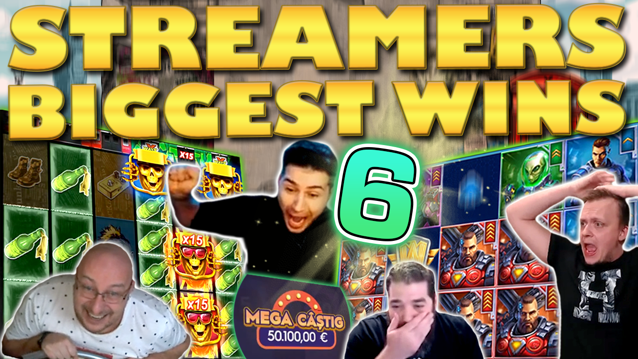 Watch the biggest casino streamer wins for week 06 2021
