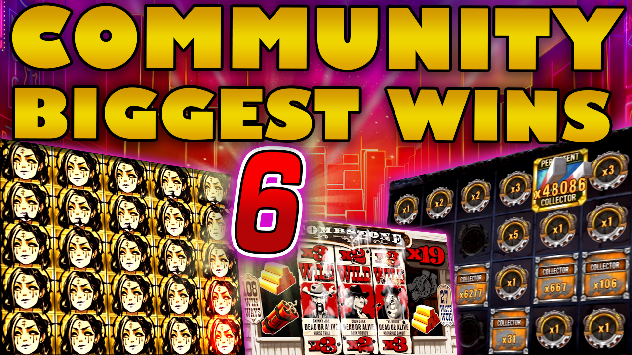 Watch the biggest Casino Streamer Community wins for week 06 2021