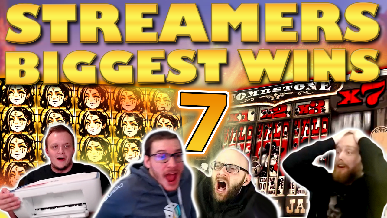 Watch the biggest casino streamer wins for week 07 2021