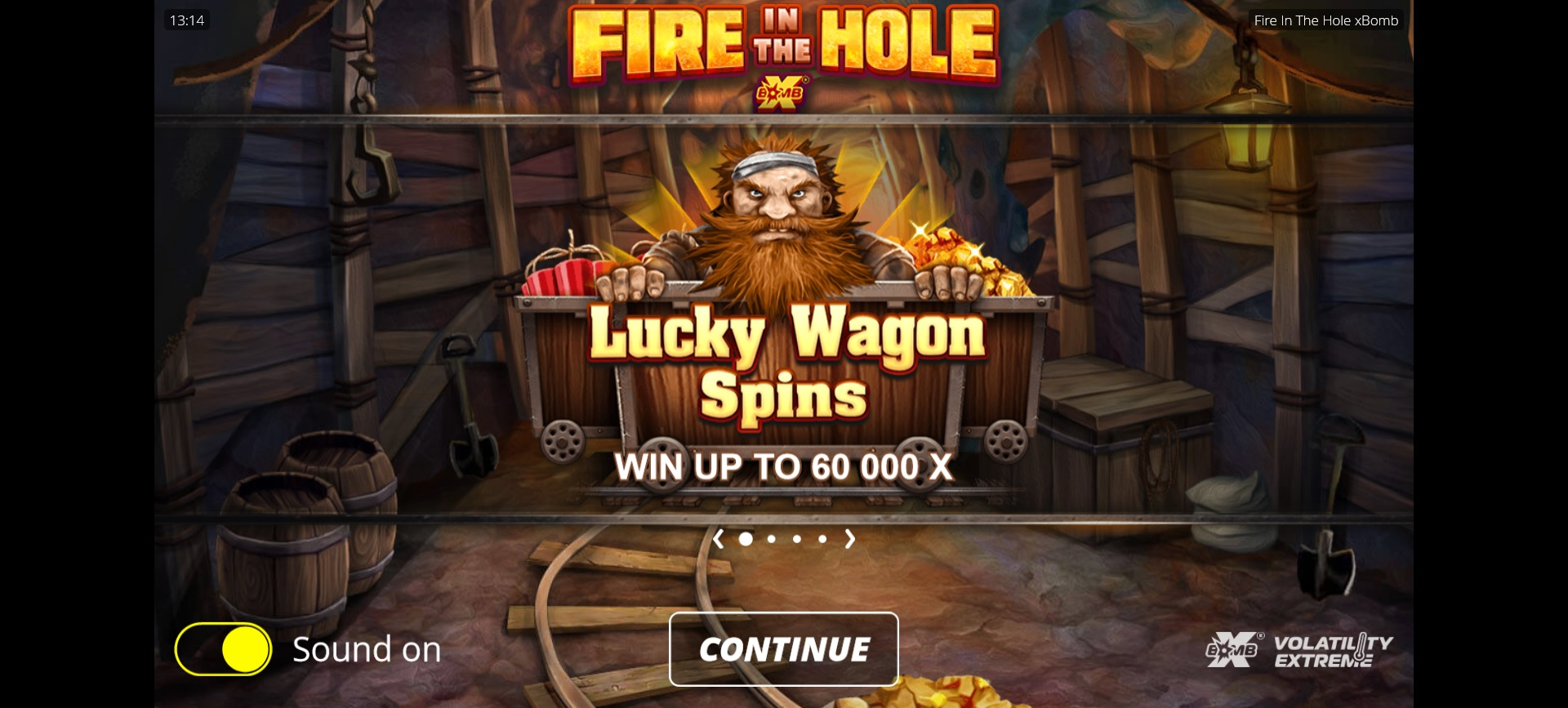 How to win big in Fire in the Hole xBomb – Lucky Wagon Spins feature