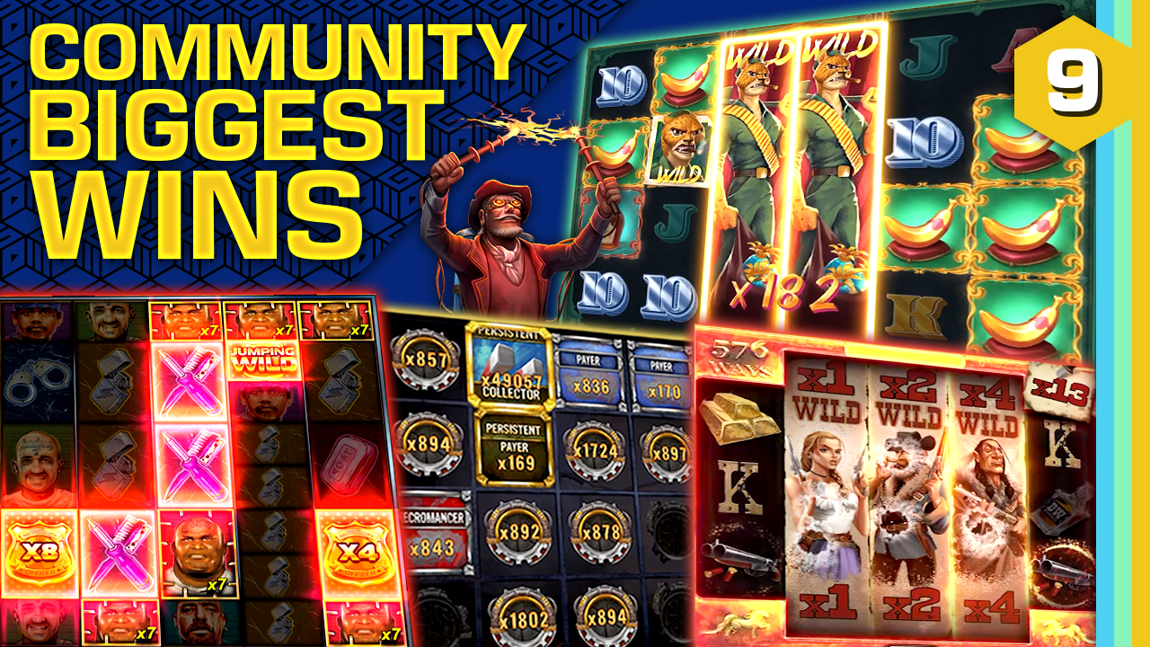 Watch the biggest Casino Streamer Community wins for week 09 2021
