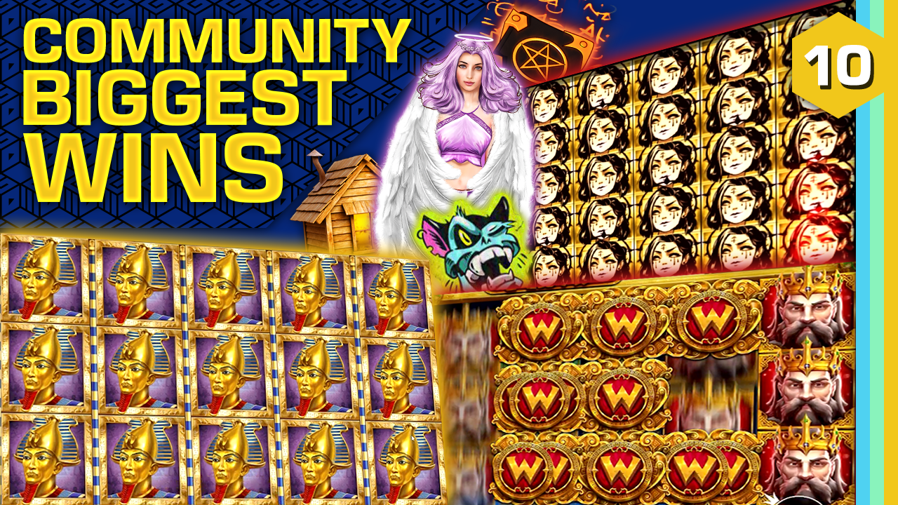 Watch the biggest Casino Streamer Community wins for week 10 2021