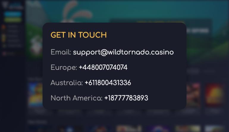 wildtornado support