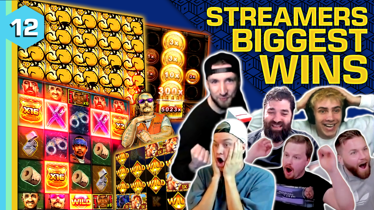 Watch the biggest casino streamer wins for week 12 2021
