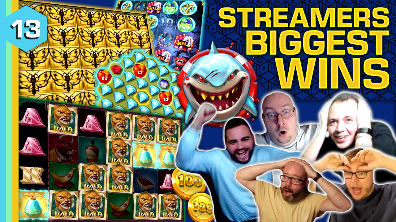 Watch the biggest casino streamer wins for week 13 2021