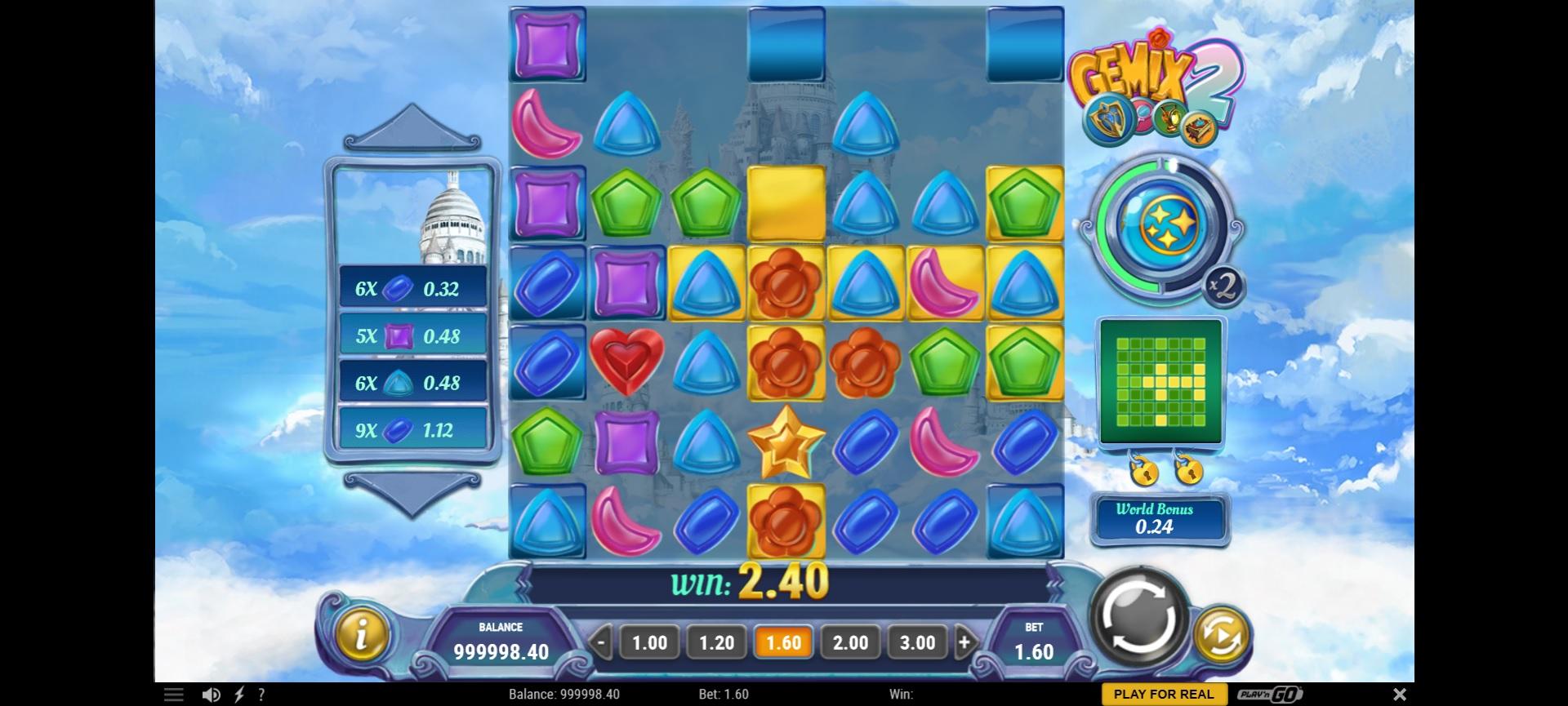 gemix 2 main game