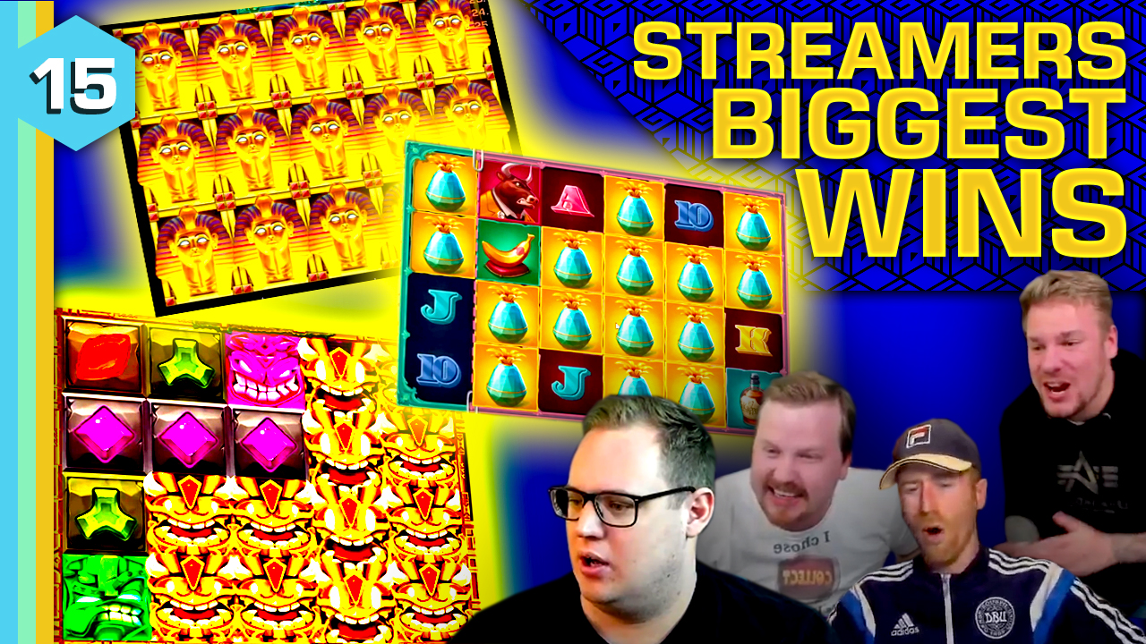 Watch the biggest casino streamer wins for week 15 2021