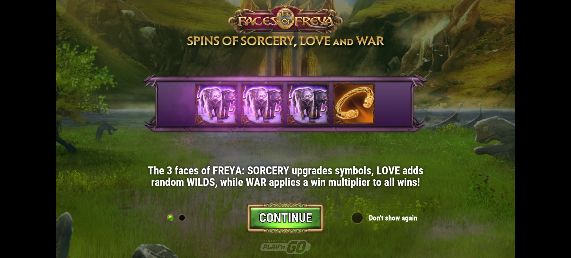 How to win big in The Faces of Freya – Spins of War feature