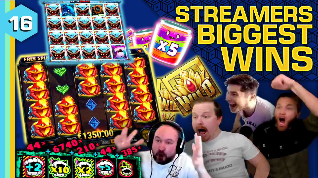 Watch the biggest casino streamer wins for week 16 2021