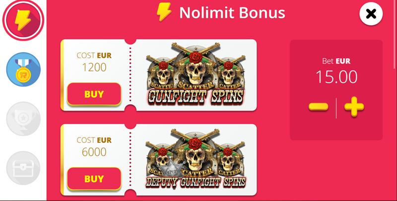 el paso bonus buy