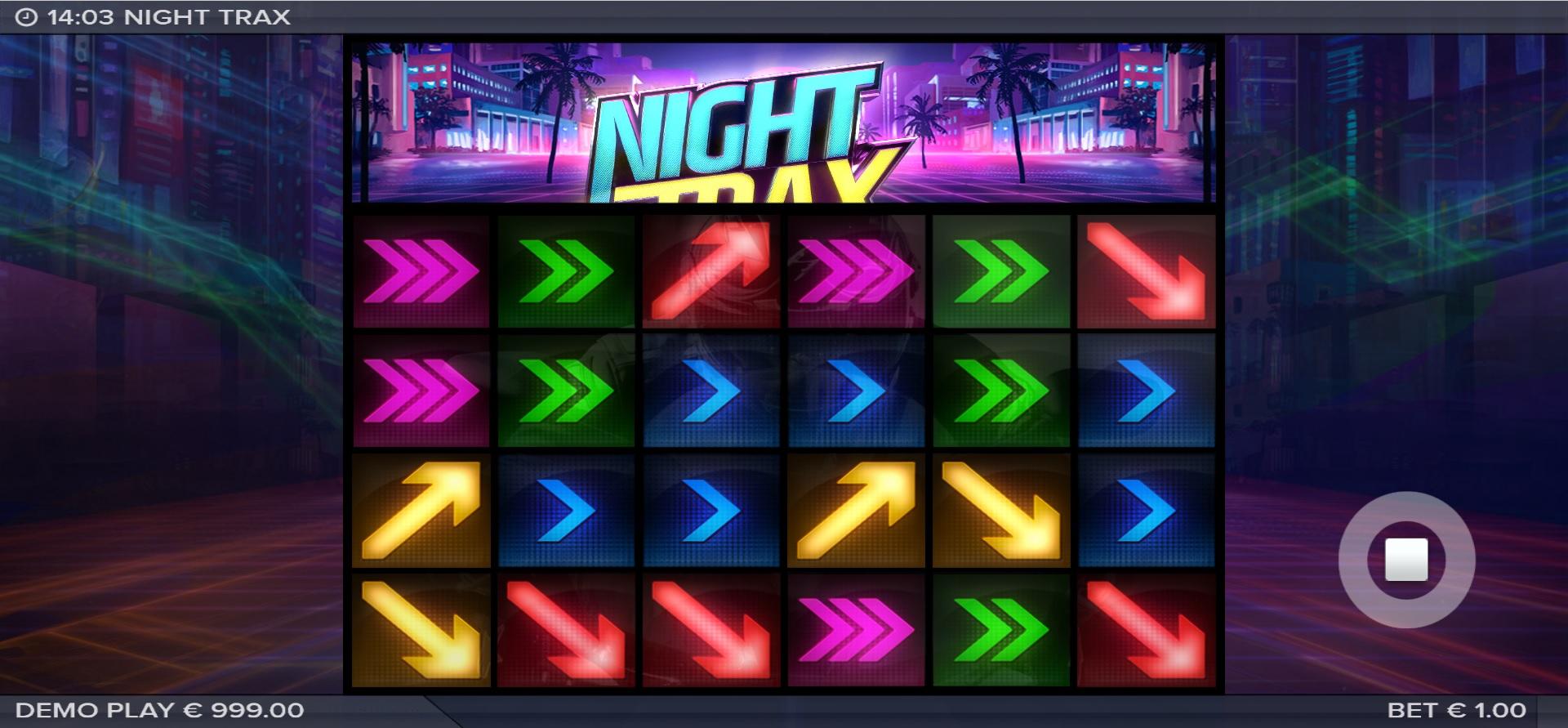 Night Trax by ELK Studios released on 06.07.2021
