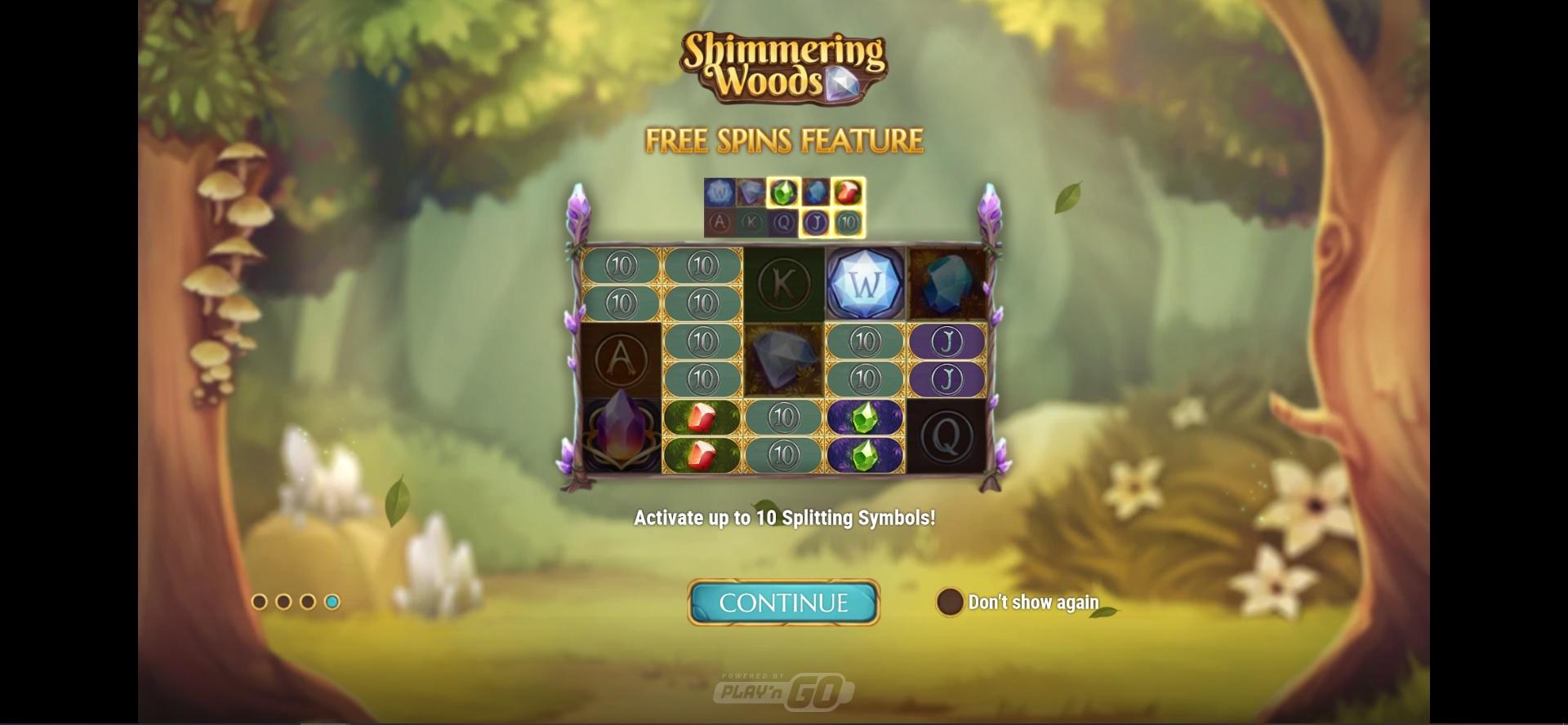 How to win big in Shimmering Woods – Splitting Symbols