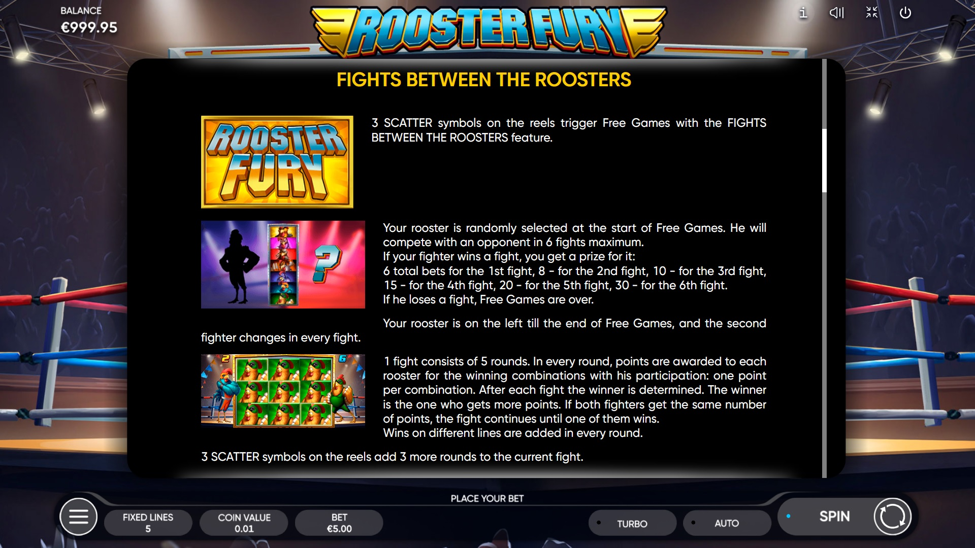 How to win big in Rooster Fury – Fights Between Roosters
