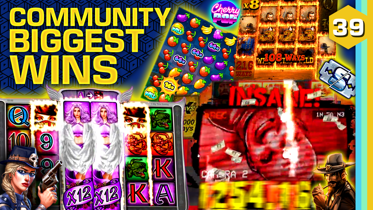Watch the biggest Casino Streamer Community wins for week 39 2021