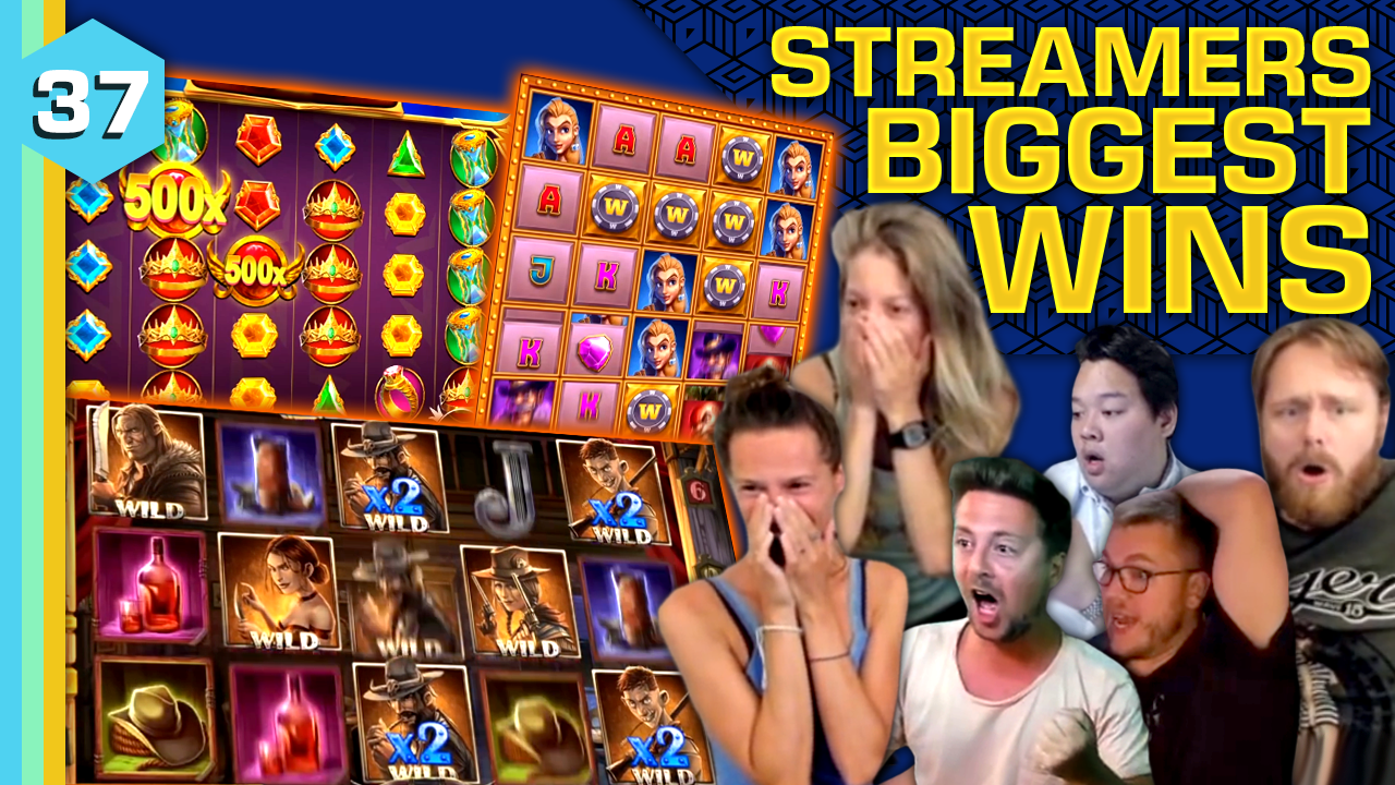 Watch the biggest casino streamer wins for week 37 2021