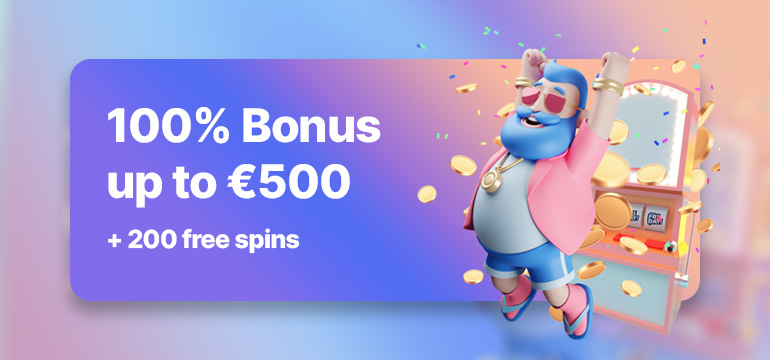 Welcome offer at CasinoFriday