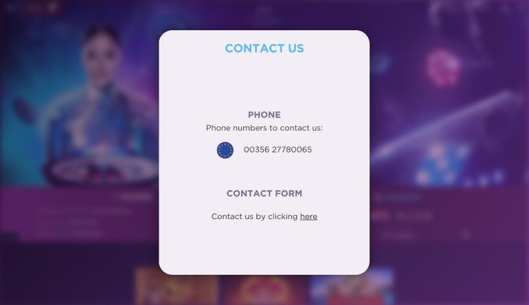 Genesis Casino Customer Support