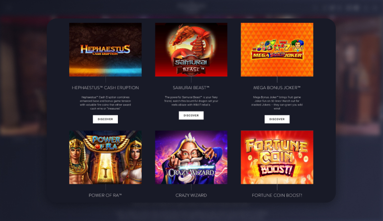 Playing at Hippodrome Online Casino