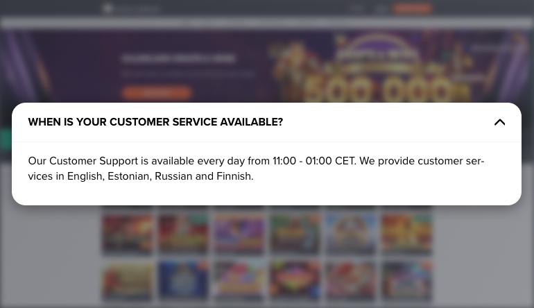 Ninja Casino's Customer Support