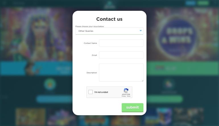 Spela Casino Customer Support