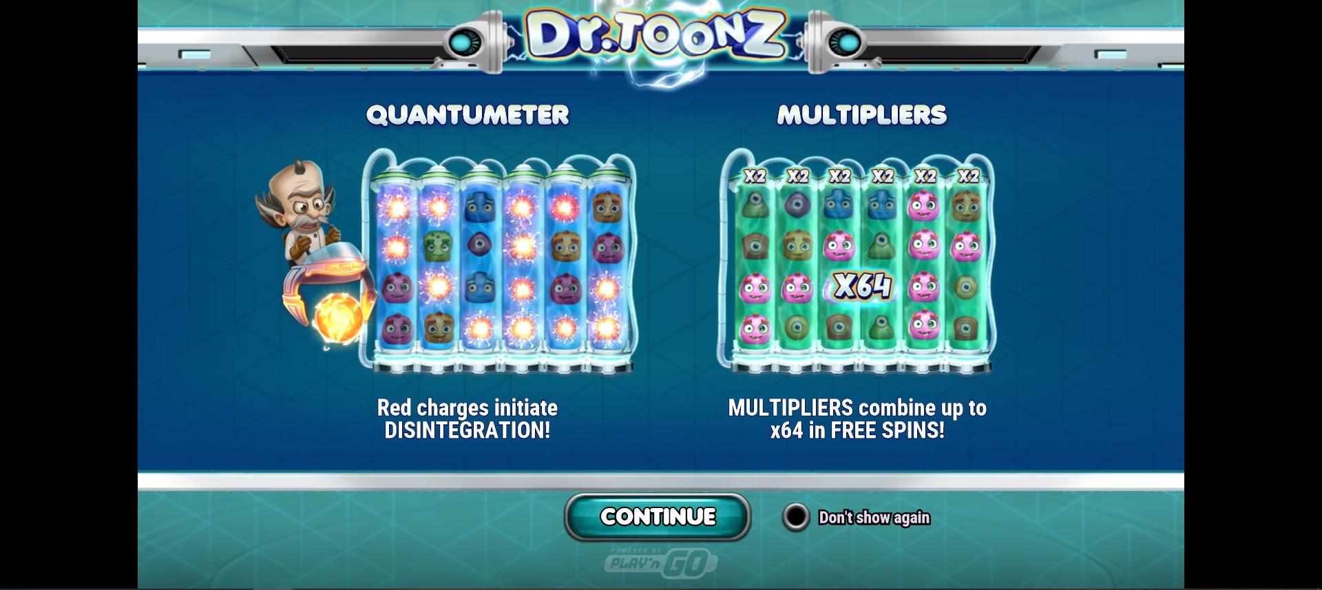 How to win big in Dr. Toonz – Quantumeter features