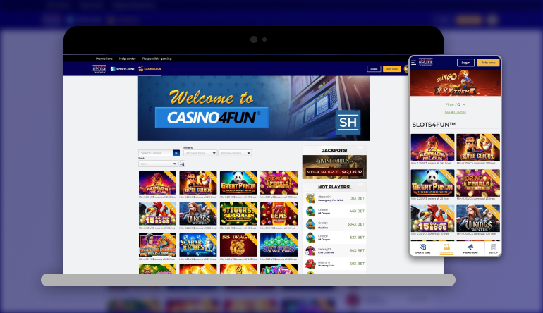 Image showing SugarHouse casino on mobile and desktop