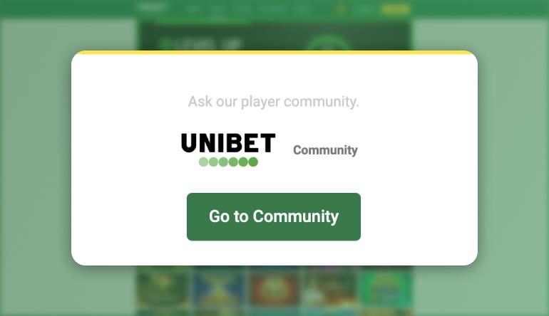 Unibet NJ online casino Customer Support